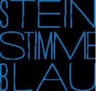 SteinStimmeBlau